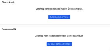 bináris kereskedés demo