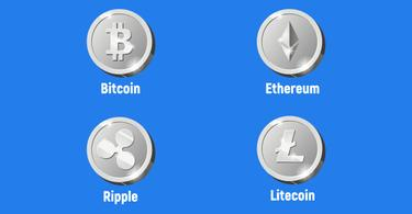 10 meeste gebruite cryptocurrencies