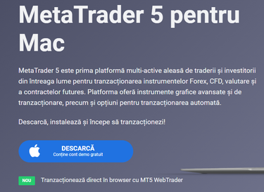 opțiuni de tranzacționare în versiunea demo