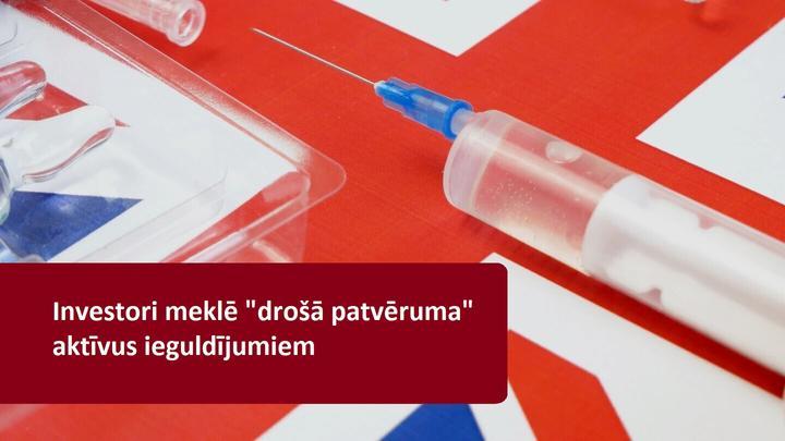 Tirgus samazinās pēc AstraZeneca koronavīrusa vakcīnas izmēģinājumu apturēšanas