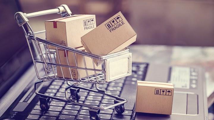 """""""Admiral Markets"""" siūlo prekiauti pagrindinių elektroninės prekybos bendrovių akcijomis!"""