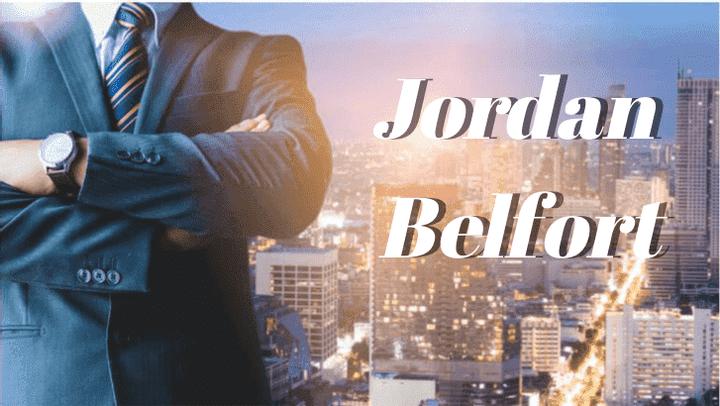 jordan belfort - wolf of wall street