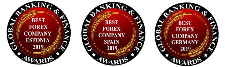 Admiral Markets бе награден за най-добър Форекс брокер 2019 в Германия, Естония и Испания