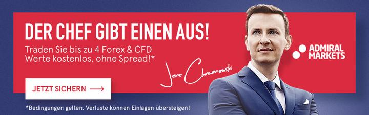 Forex & CFD traden ohne Spread, also quasi kostenlos. Boss Birthday Aktion 2016