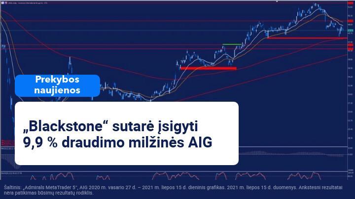 """AIG sutinka parduoti dalį savo draudimo verslo """"Blackstone"""" bendrovei už 2 00 mln. JAV dolerių"""