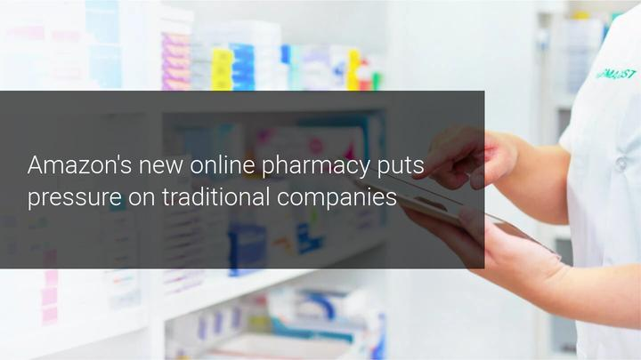 AMZN jumps into the pharmacy business