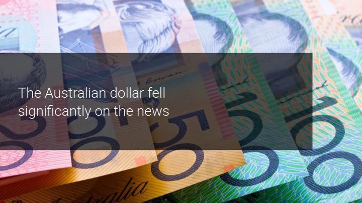 AUD stort in door mogelijke versoepeling van de RBA in november