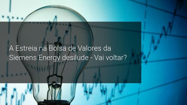 A Estreia na Bolsa de Valores da Siemens Energy desilude - Vai voltar? Admiral Markets