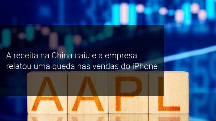 A receita na China caiu e a empresa relatou uma queda nas vendas do iPhone - Admiral Markets