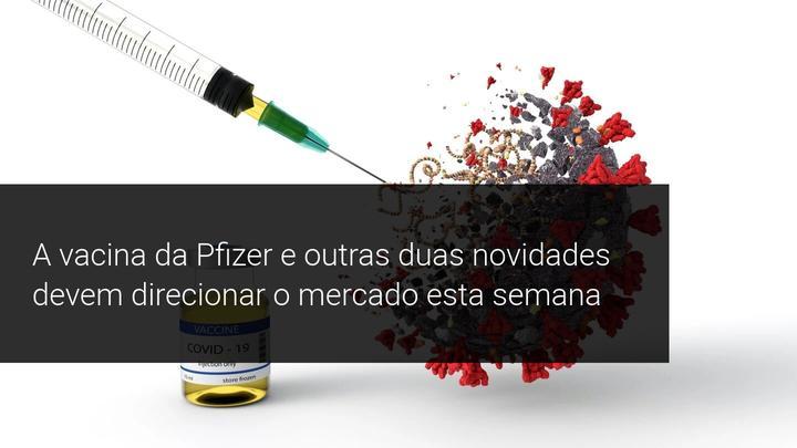 A vacina da Pfizer e outras duas novidades devem direcionar o mercado esta semana - Admiral Markets
