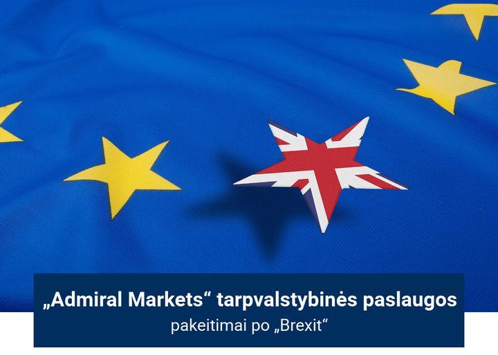 Admiral Markets tarpvalstybinių paslaugų pakeitimai