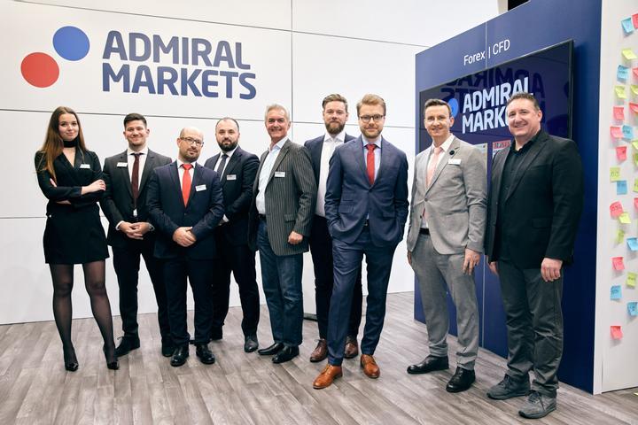 Admiral Markets German team - World of Trading 2019