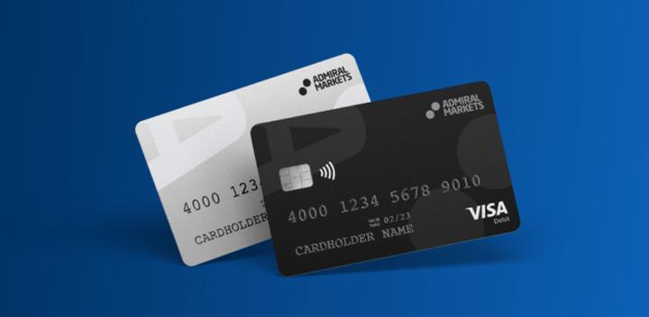 Admiral Markets Card – naujas mokėjimo būdas