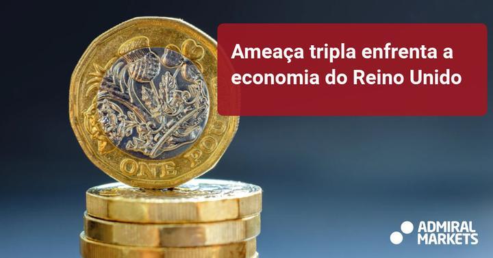Ameaça tripla enfrenta a economia do Reino Unido - Admiral Markets