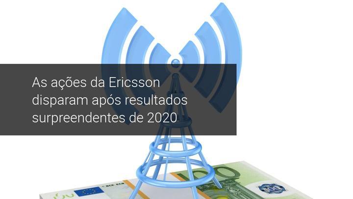 As ações da Ericsson disparam após resultados surpreendentes de 2020 - Admiral Markets