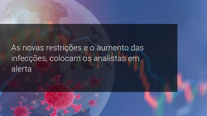 As novas restrições e o aumento das infecções, colocam os analistas em alerta - Admiral Markets