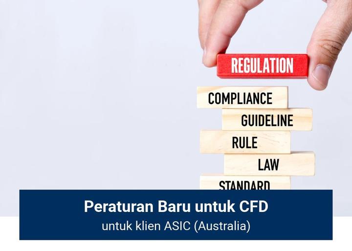 Aturan baru ASIC atas CFD