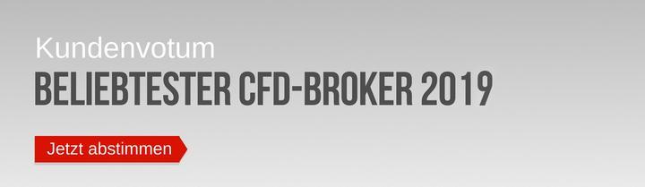 Jetzt abstimmen für den Beliebtesten CFD-Broker 2019