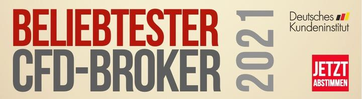 Wählen Sie Admiral Markerts zum beliebtesten CFD Broker 2021