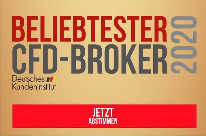 Das Deutsche Kundeninstitut sucht den ''Beliebtesten CFD-Broker 2020''