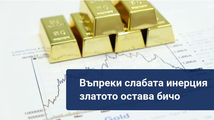 Златото се задържа над 1900, въпреки разочароващия Пауъл! Какво следва?
