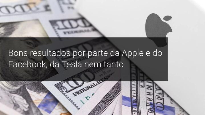 Bons resultados por parte da Apple e do Facebook, da Tesla nem tanto - Admiral Markets