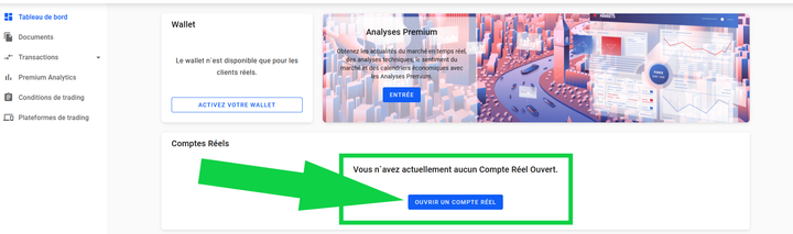 Ouvrir compte forex admiral markets