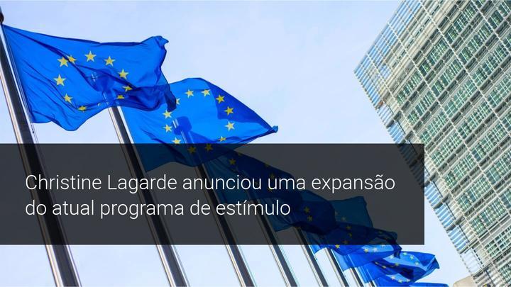 Christine Lagarde anunciou uma expansão do atual programa de estímulo - Admiral Markets