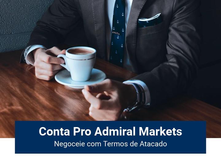 Conta Pro da Admiral Markets