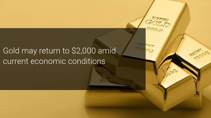 Coronavirus deaths hit 1 million as UBS says to buy gold