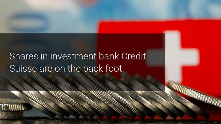 Credit Suisse boekt een winstdaling van 38%.  Meer pijn in het verschiet?
