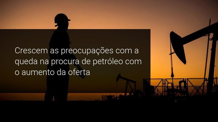 Crescem as preocupações com a queda na procura de petróleo com o aumento da oferta - Admiral Markets