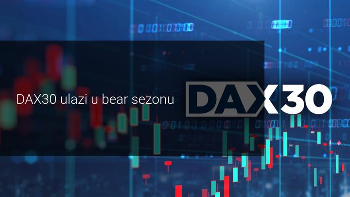 DAX30 ulazi u bear sezonu