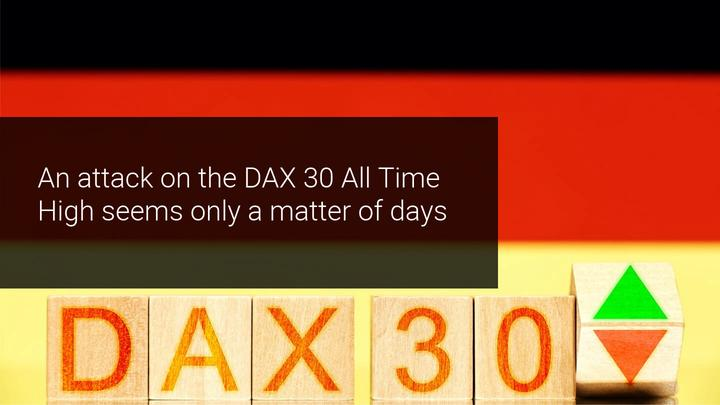 DAX30 with bullish consolidation before a final attack on All Time High?