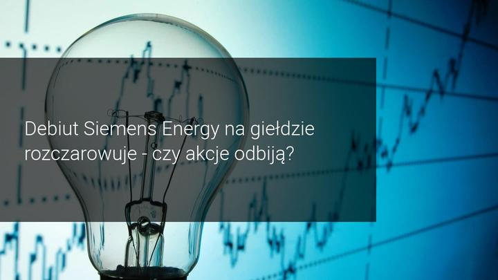 Debiut Siemens Energy
