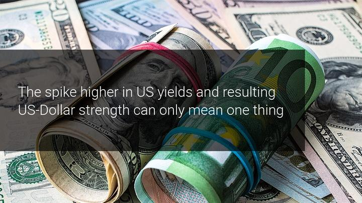 Despite rising US yields, EURUSD still well above 1.1600 – 1.2000 into the yearly close?