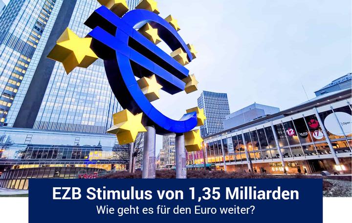 EZB bleibt bei 1,35 Billionen Euro Fördermittel! Was kommt als nächstes für den EUR?