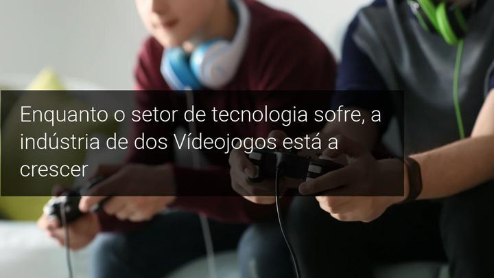 Enquanto o setor de tecnologia sofre, a indústria de dos Vídeojogos está a crescer - Admirals