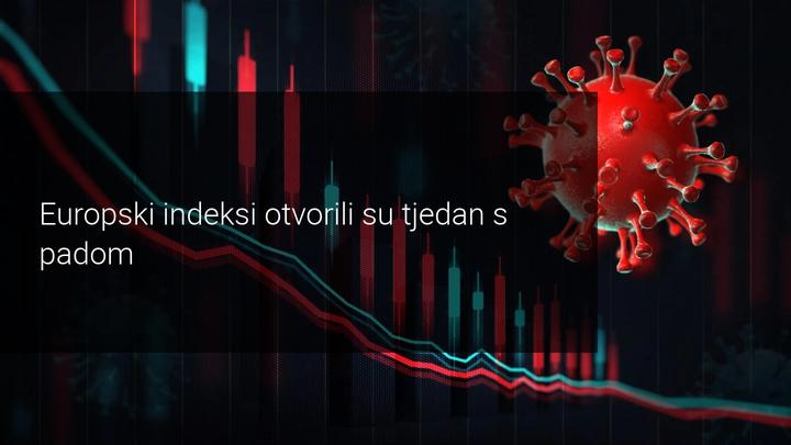 europski indeksi pali početkom tjedna