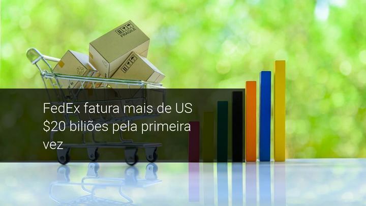 FedEx fatura mais de US $20 biliões pela primeira vez - Admiral Markets