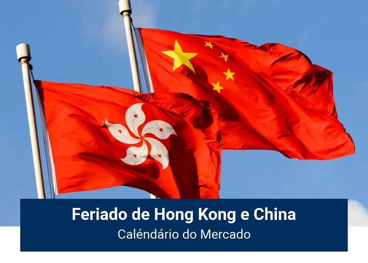 Feriado de Hong Kong e China - Admiral Markets