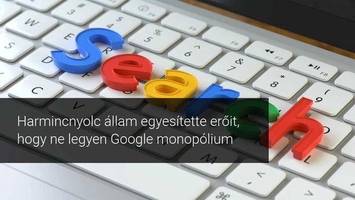 Google monopólium
