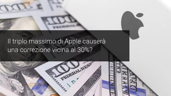 Triplo massimo correzione Apple