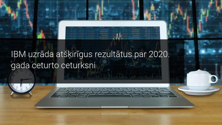 Neraugoties uz peļņas rezultātu uzlabojumiem, IBM ieņēmumi samazinās