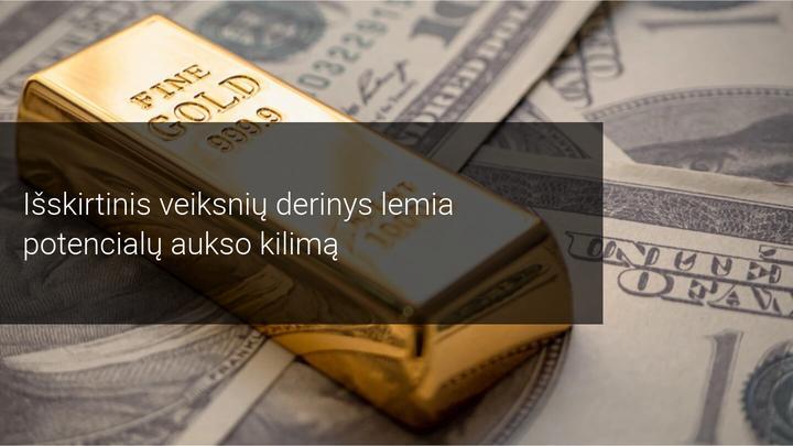 Taurieji metalai kyla dėl silpno dolerio. Kiek tai tęsis?