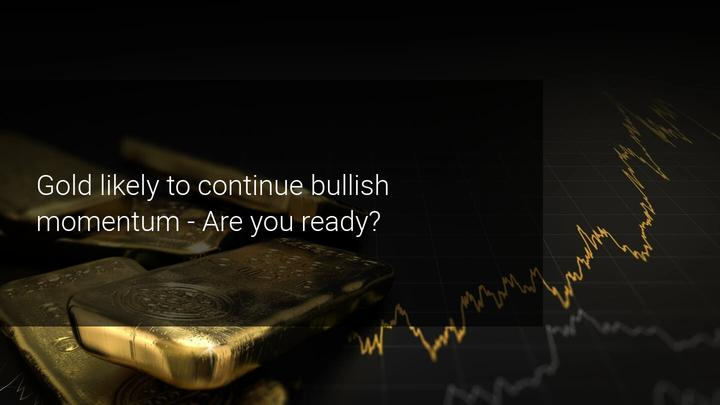 Gold bulls ready for take-off for a run back above 2,000 USD soon?