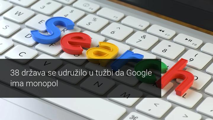 google optuzen za monopol