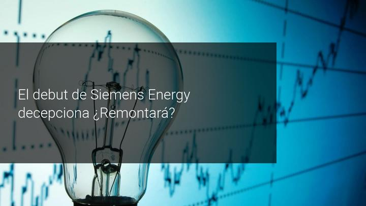 Debut Siemens Energy bolsa