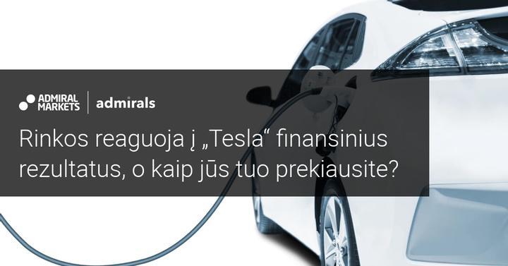 """Investicijos į bitkoiną teigiamai veikia """"Tesla"""" ketvirčio rezultatus"""