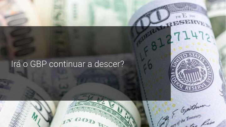 Irá o GBP continuar a descer? - Admiral Markets